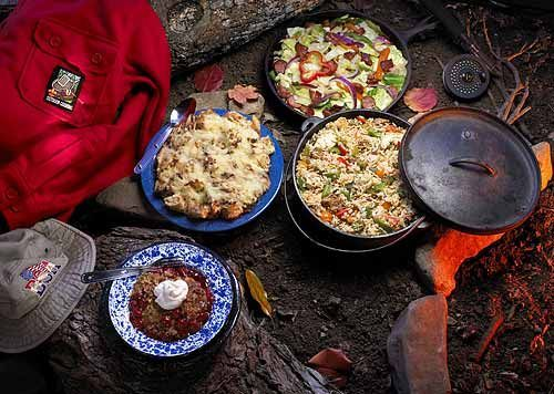 Winning Camping Recipes for Campfire Cuisine - by Scouting Magazine - we've tried several of these, and they are great