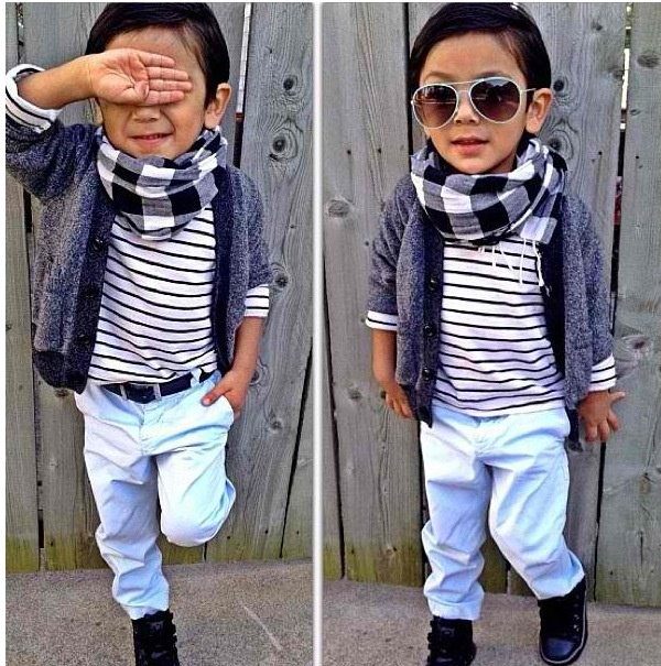 Fashion kids. Lol I can imagine my boy in this
