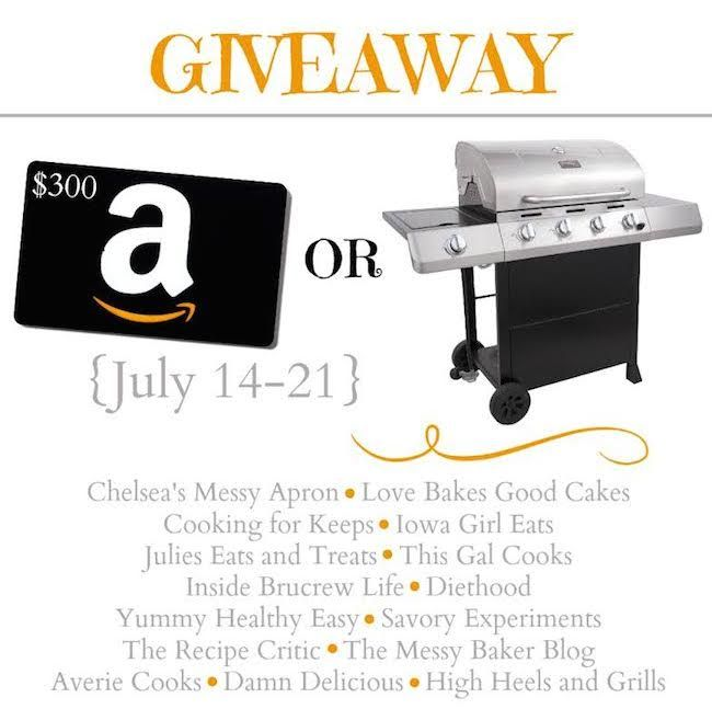 Char-Broil Classic Gas Grill or $300 Amazon Gift Card Giveaway!