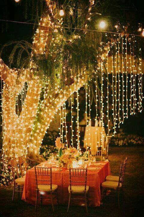 9 unique ways to light up your yard ideas para romantic for Decoration e