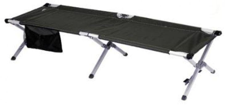 Fuerte y liviana. Cama portátil para camping o de descanso. Medidas: 0.60 x 1.90mts. Incluye estuche para almacenar y transportar. Capacidad: 250lbs.