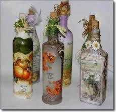 Resultado de imagen para decoracion de botellas con arena