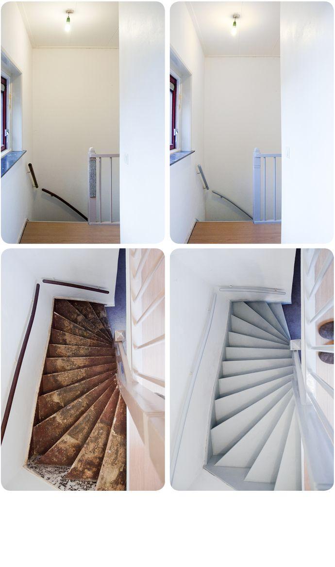 17 beste idee n over trap opknappen op pinterest trap opknappen onder de trap hoekje en trap - Hoe om te schilderen een trap ...
