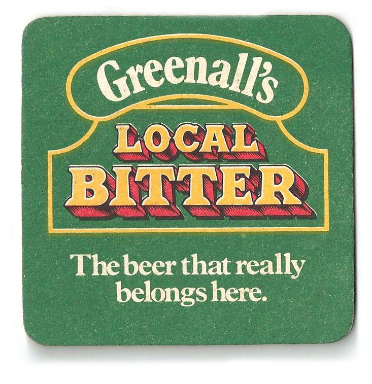 Greenalls Vintage Beer Mat