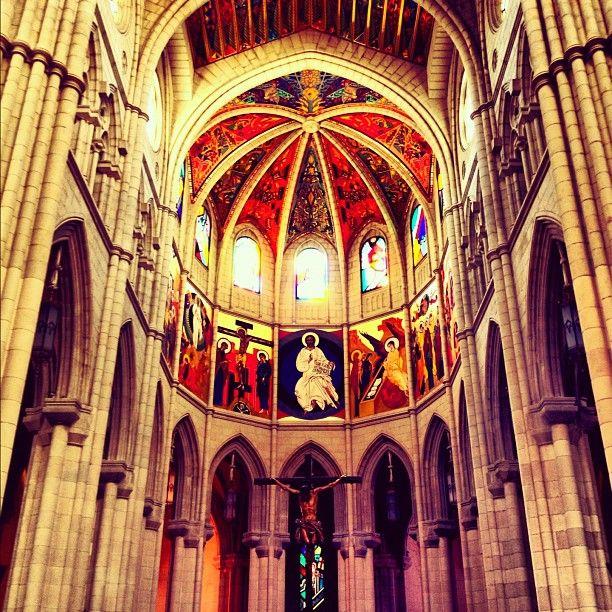Santa Iglesia Catedral de Santa María la Real de la Almudena in Madrid, Madrid
