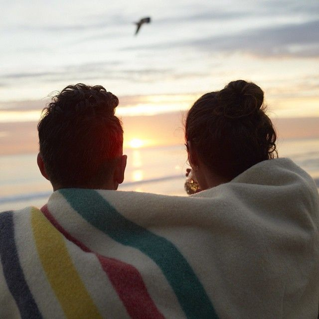 The sun sets over these lovebirds at Emma Wood State Beach in Ventura County, California. #GoRVing #FindYourAWAY