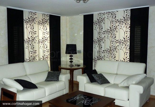 7 best paneles japoneses images on pinterest curtains - Paneles japoneses salon ...