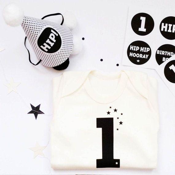 baby first birthday gift : organic cotton by byebyebirdieengland