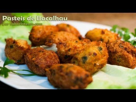 http://www.saborintenso.com/f21/pasteis-bacalhau-742/ - Aprenda a cozinhar a receita de Pasteis de Bacalhau. Site: http://www.saborintenso.com/ eBook: http:/...