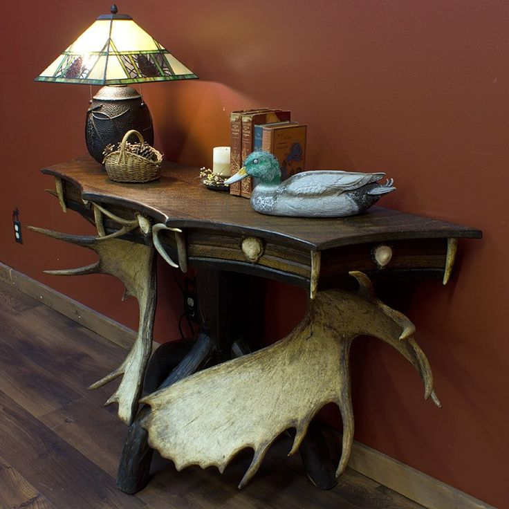 62 Best Images About Rustic Antler Furniture & Decor On