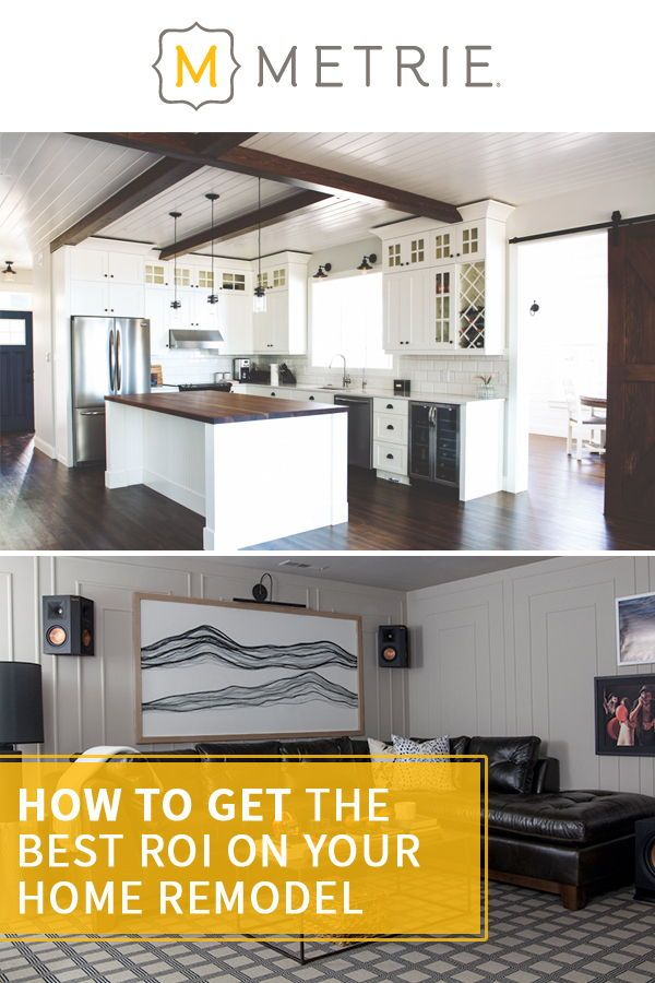 How To Get The Best Roi On Your Home Remodel Projects Home Remodeling Remodel Cheap Renovations