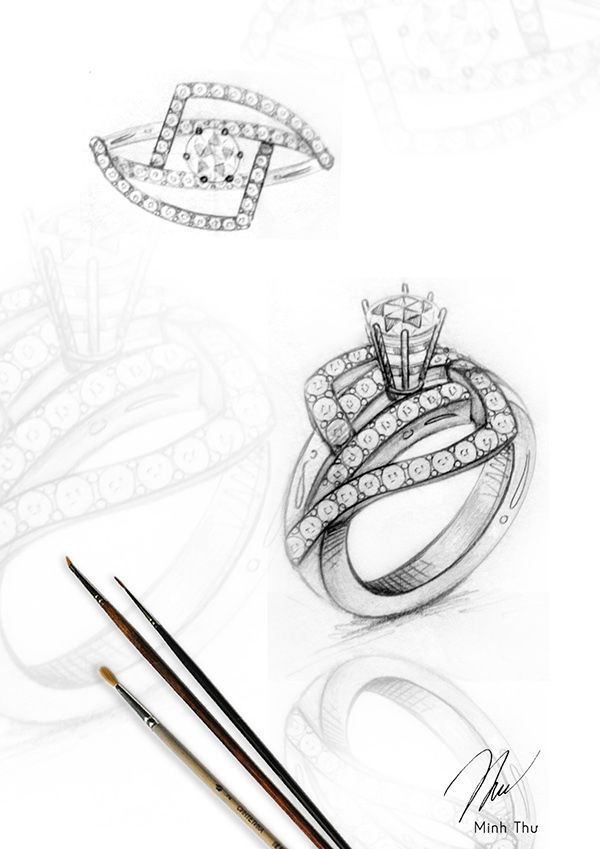 Portfolio jewelry on Behance                                                                                                                                                                                 More
