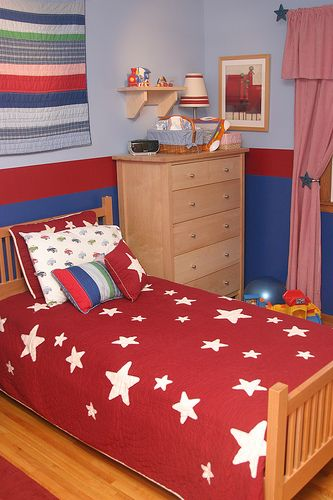 17 best images about boy 39 s bedroom ideas on pinterest blue walls red and blue and decorating. Black Bedroom Furniture Sets. Home Design Ideas