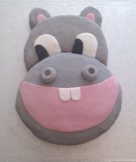 Best 25 Hippo Cake Ideas On Pinterest Fondant Animals