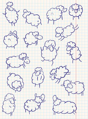 Parable of the Lost Sheep Handpring Christian Craft