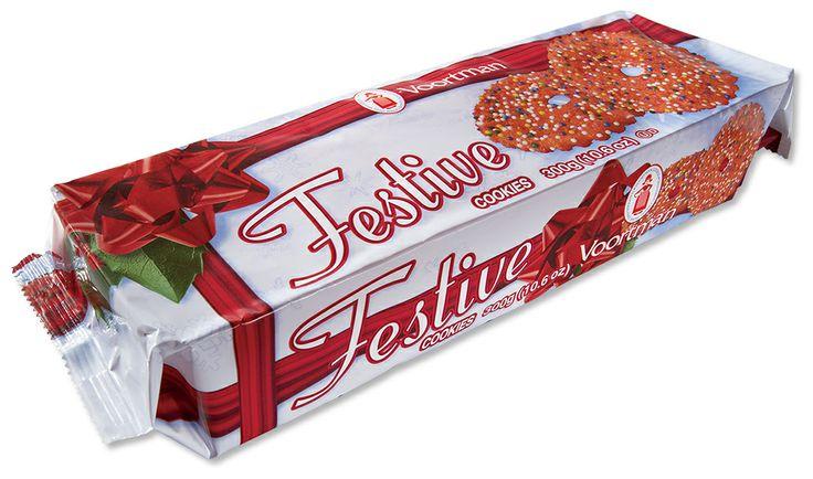 Christmas Festive Red Cookies - Voortman Cookies | Christmas ...