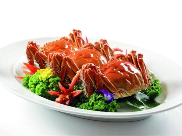 Menu Braised Hairy Crabs