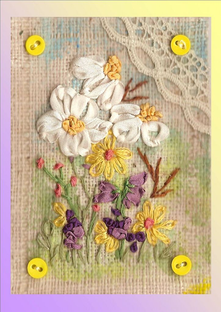 Best fabric postcards and atc s images on pinterest