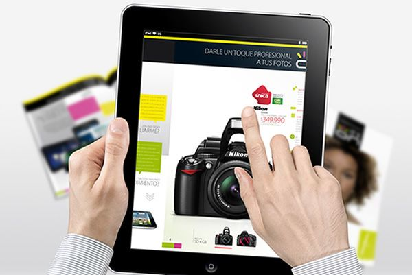IT'S ON Falabella - Adobe DPS by Lhuis, via Behance