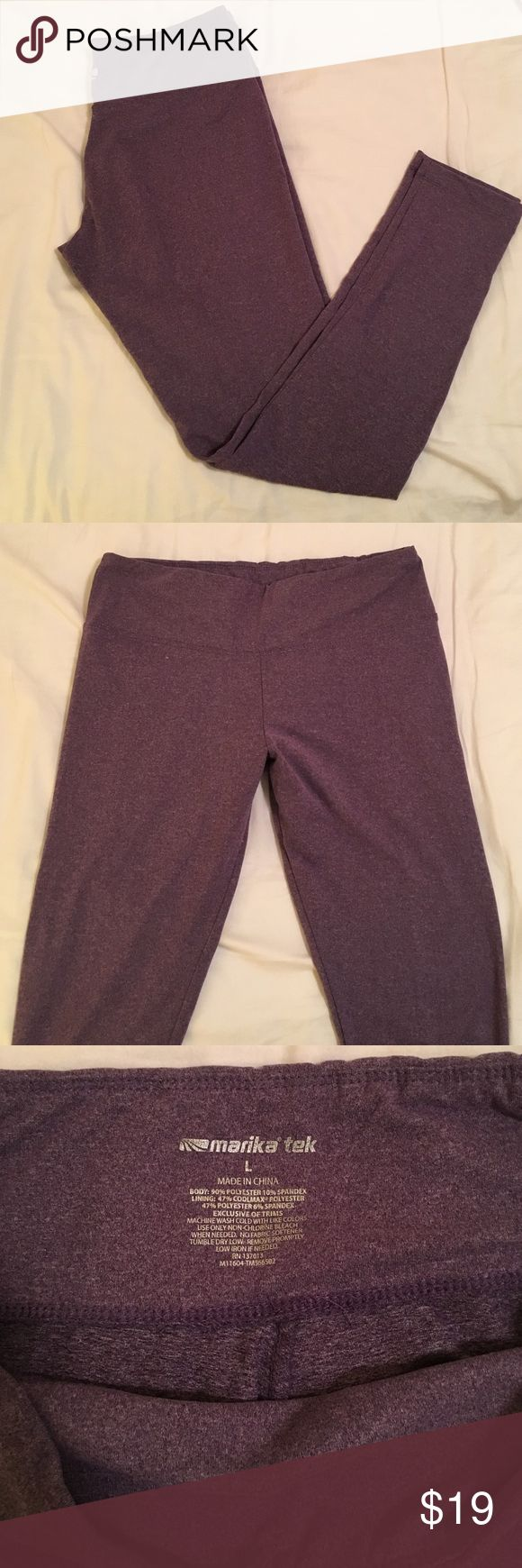 Purple spandex pants Super soft and comfy Long spandex. Great for hanging out or working out. 90% polyester 10% spandex. In great condition Marika Pants Leggings