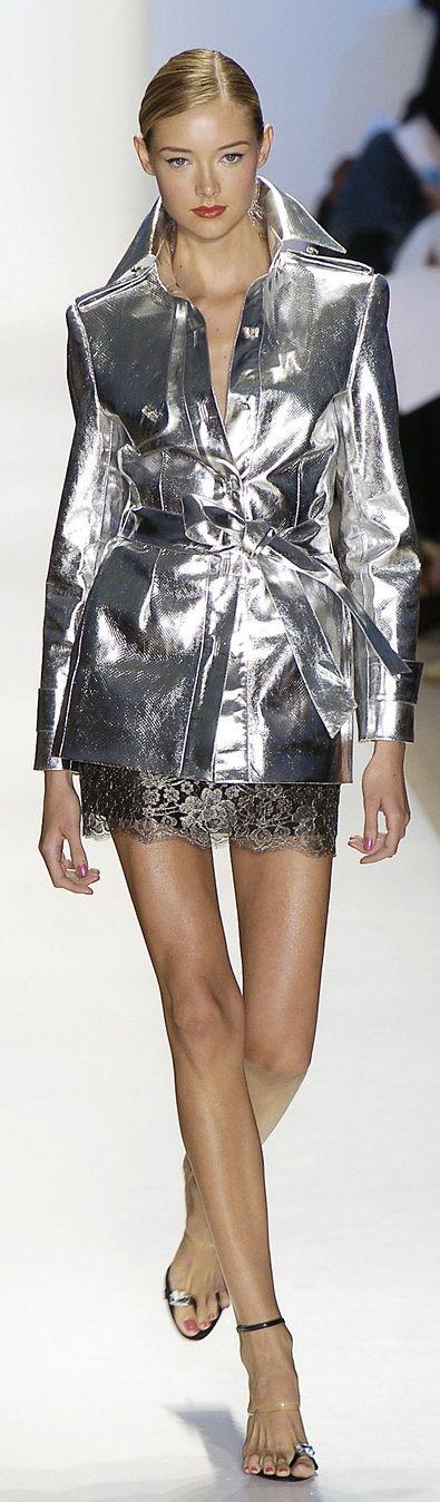 Zang Toi ~ Silver Metallic Jacket, 2015
