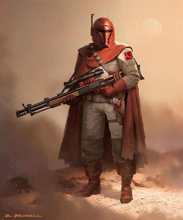 Star Wars: Rogue Sniper, Brandon Russell on ArtStation at https://www.artstation.com/artwork/gxbX8