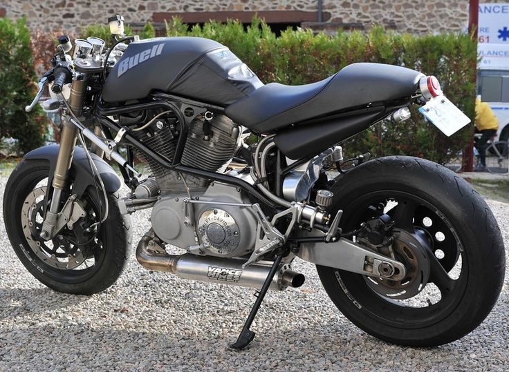 Buell M2 cafe racer