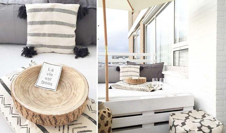 5 ambiances de balcon repérées sur Pinterest... à copier chez soi !