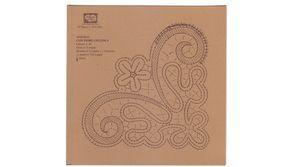 8° Corso di pizzo al tombolo Durata: 292 min. circa 2 DVD - Il Giardino dei Punti, Circolo di ricami, pizzi e decori