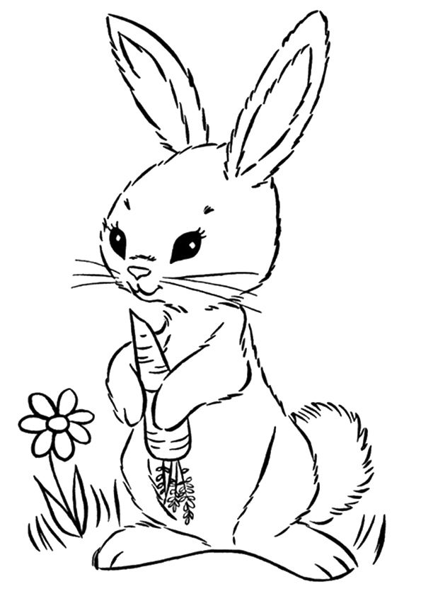 Print Coloring Image Momjunction Bunny Coloring Pages Easter Bunny Colouring Cute Coloring Pages