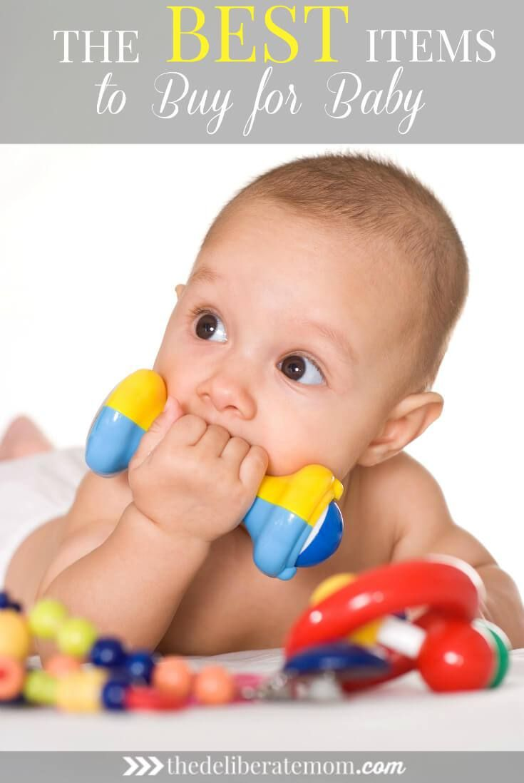 Do you get overwhelmed by all the things people say are the best baby items