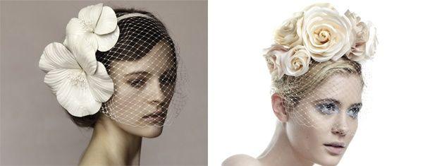 Ślubne opaski do włosów