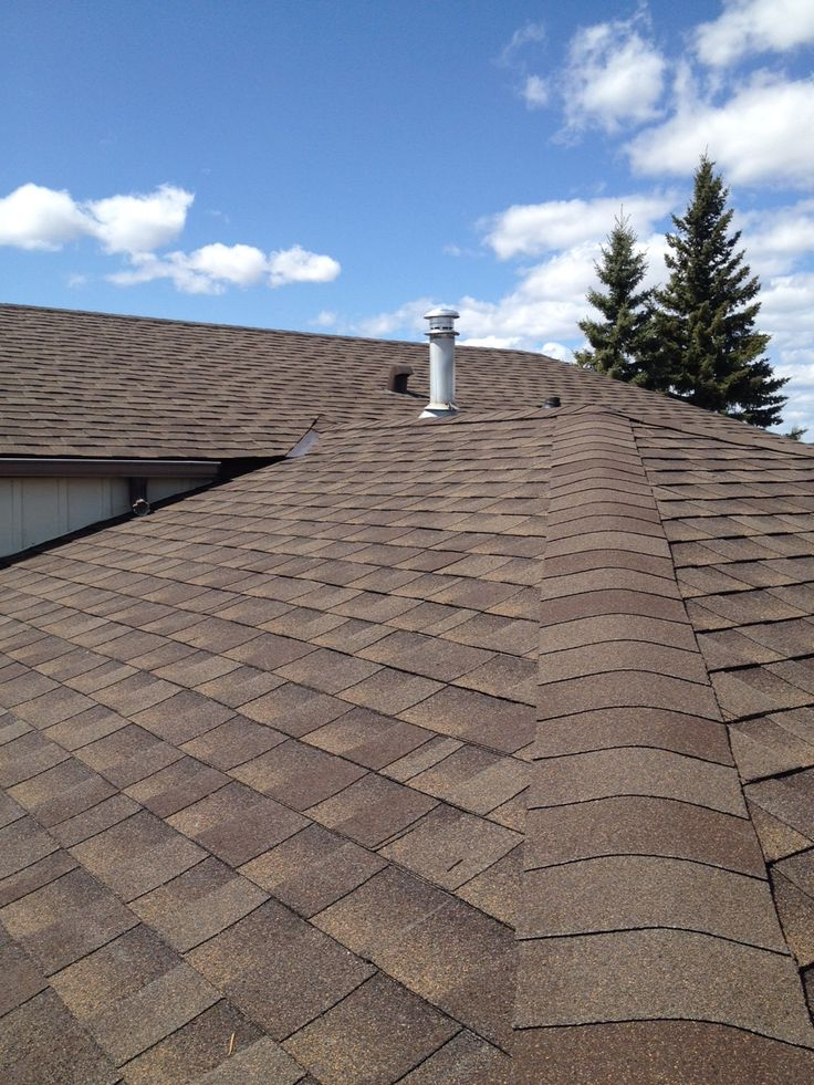 Recently Completed Asphalt Shingle Roof In Cochrane