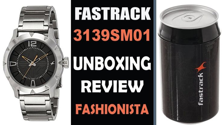 Unboxing and Review of Fastrack 3139SM01 Wrist Watch For Men