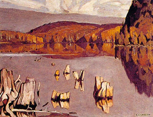 A. J. Casson Still Morning