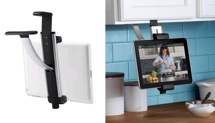 check out belkin kitchen cabinet tablet mount on thegearpost