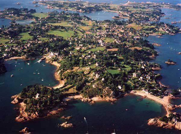 Ile de Brehat, Brittany, France.