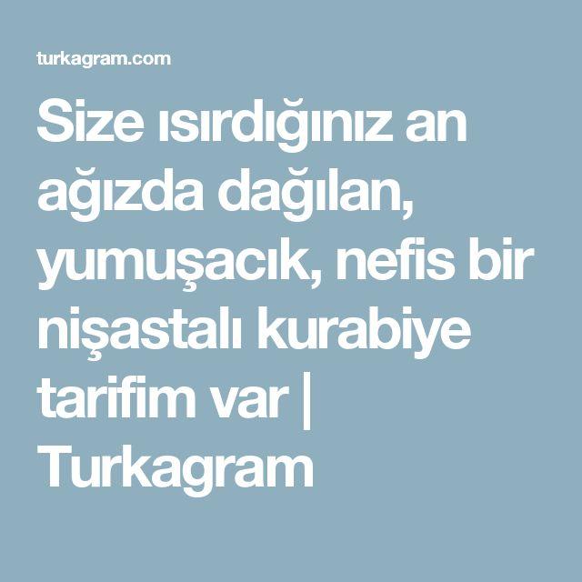 Size ısırdığınız an ağızda dağılan, yumuşacık, nefis bir nişastalı kurabiye tarifim var | Turkagram