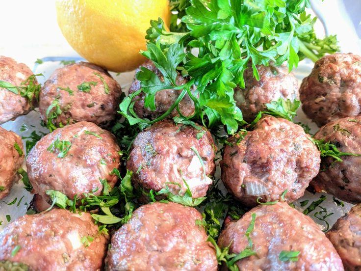Minted meatballs