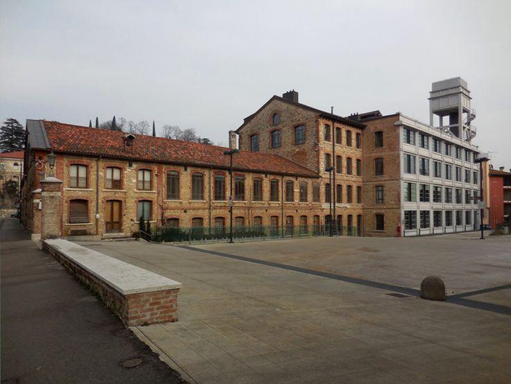 Lanificio Conte a Schio, (Fotografia di Simona Merati, 10-01-2015).