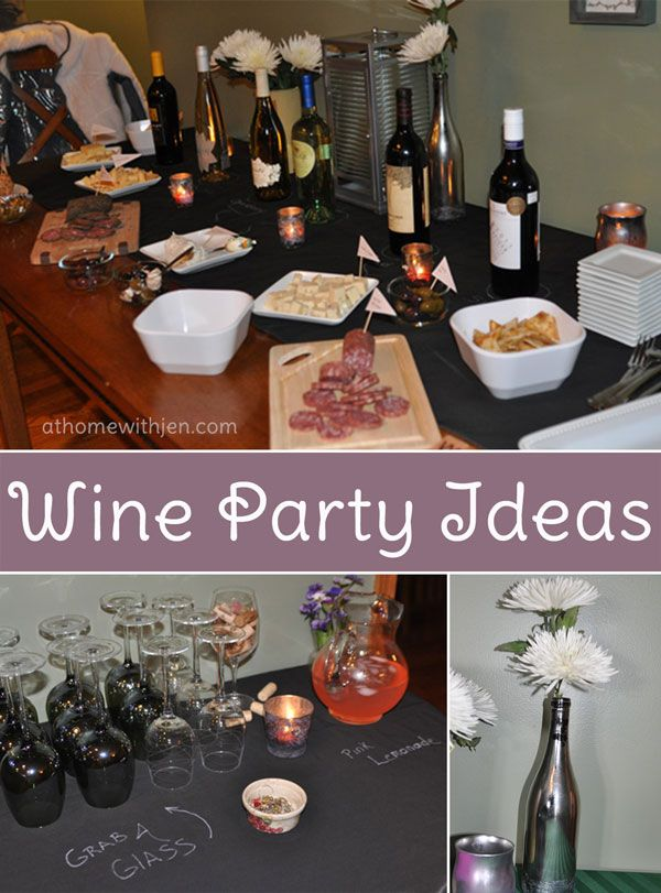 Wine Party Ideas Wine Party Ideas! #partyplanning