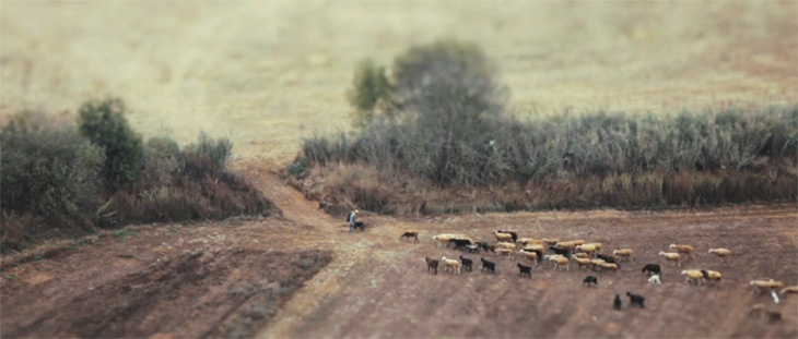 The Village – a tilt-shift timelapse of a small Portuguese village