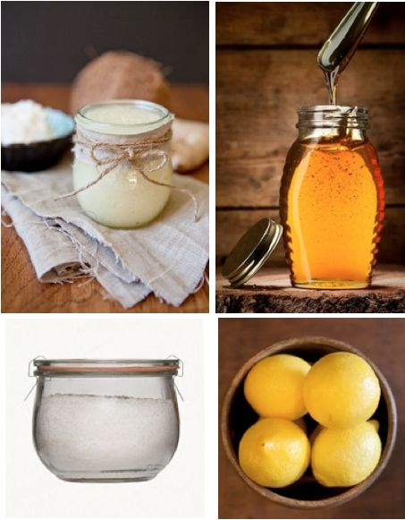 homemade facial exfoliant
