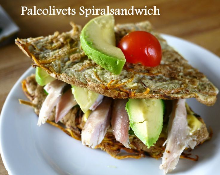 Paleo sandwich med kylling