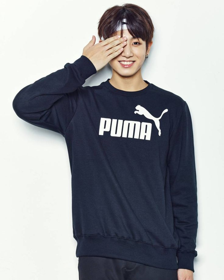 BTS JK   Hahaha his hair mmm his smile so cutee