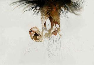 The design llama: Sam Kieth art - my favorite