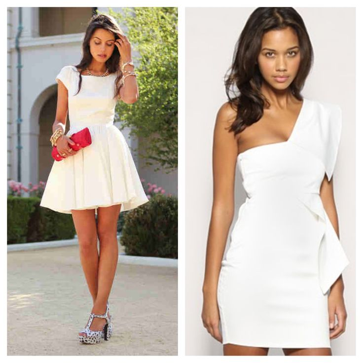 17 Best images about All white dresses on Pinterest   Junior party ...