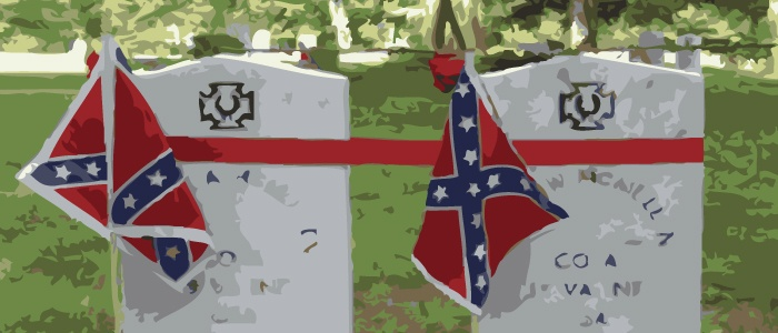 3. Confederate Memorial Day is a thing in the south. - Nine states (Alabama, Florida, Georgia, Louisiana, North Carolina, South Carolina, Mississippi, Tennessee, and Texas) observe Confederate Memorial Day. The holiday started a year after the end of the Civil War, when the Ladies Memorial Association passed a resolution to memorialize dead Confederate soldiers.