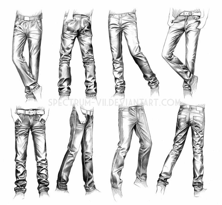 A study in jeans by Spectrum-VII.deviantart.com on @deviantART