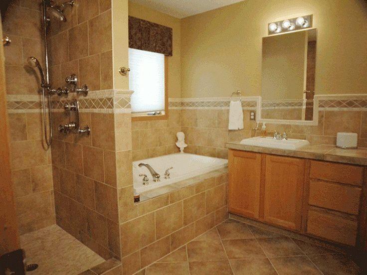 Tile Designs For Bathroom Walls Ideas ~ http://lovelybuilding.com/black-and-white-tile-designs-for-bathroom-floors/